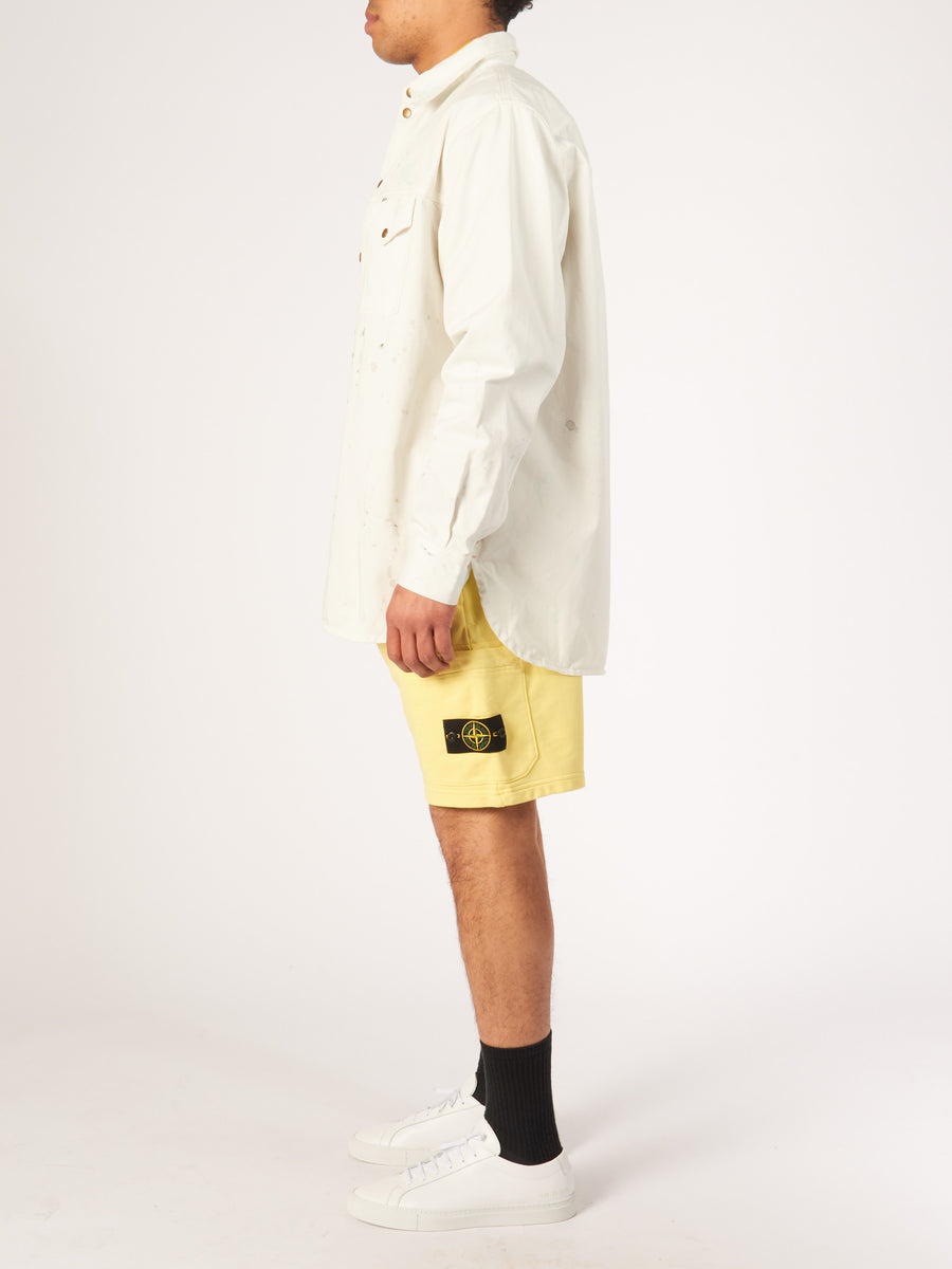 acne-studios-White/Multicolor-Painter-Overshirt