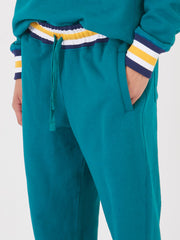 aimé-leon-dore-Mariner-Green-Collegiate-Sweatpants-on-body