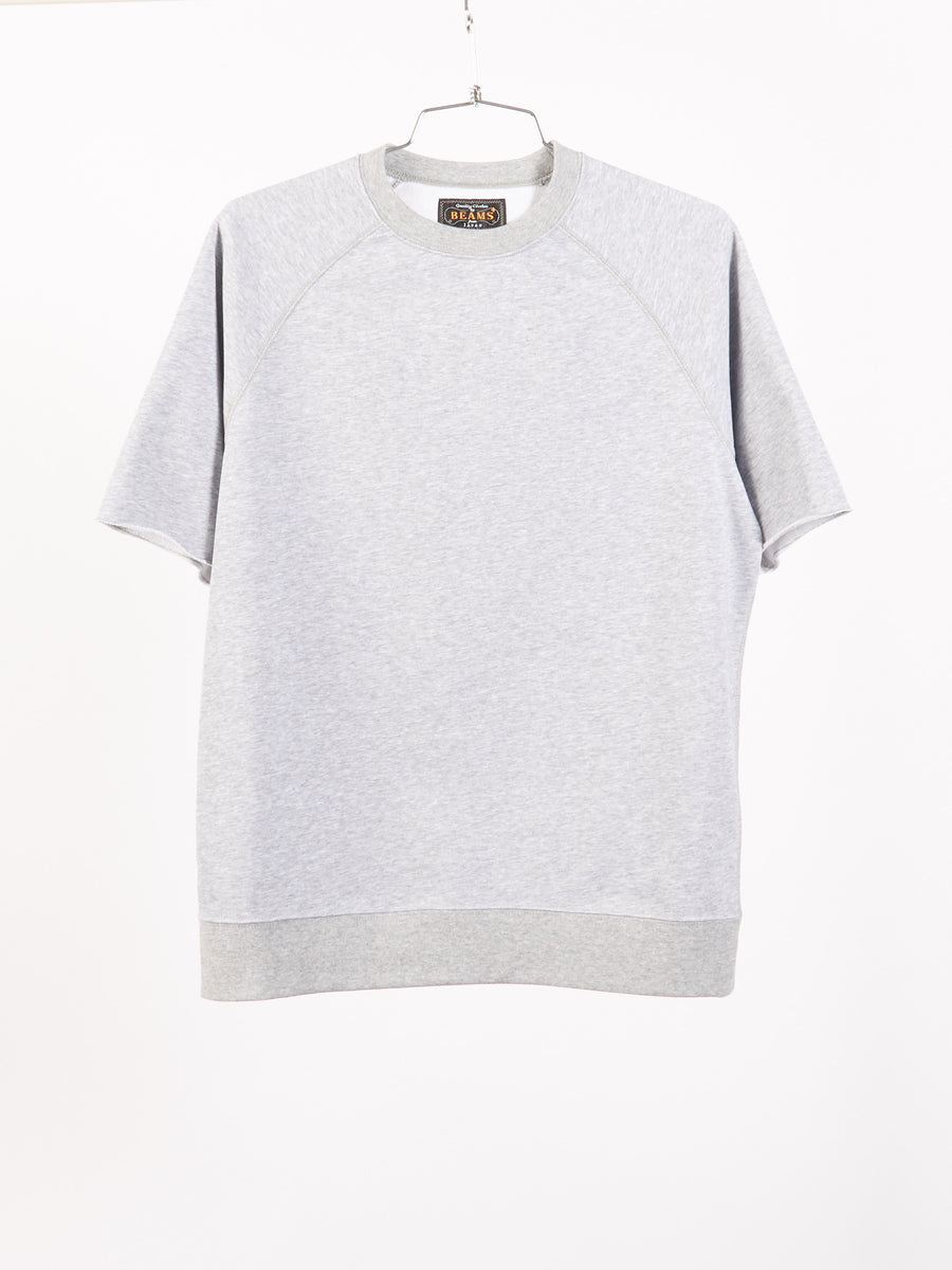 beams-plus-Grey-Sweatshirt-Tee