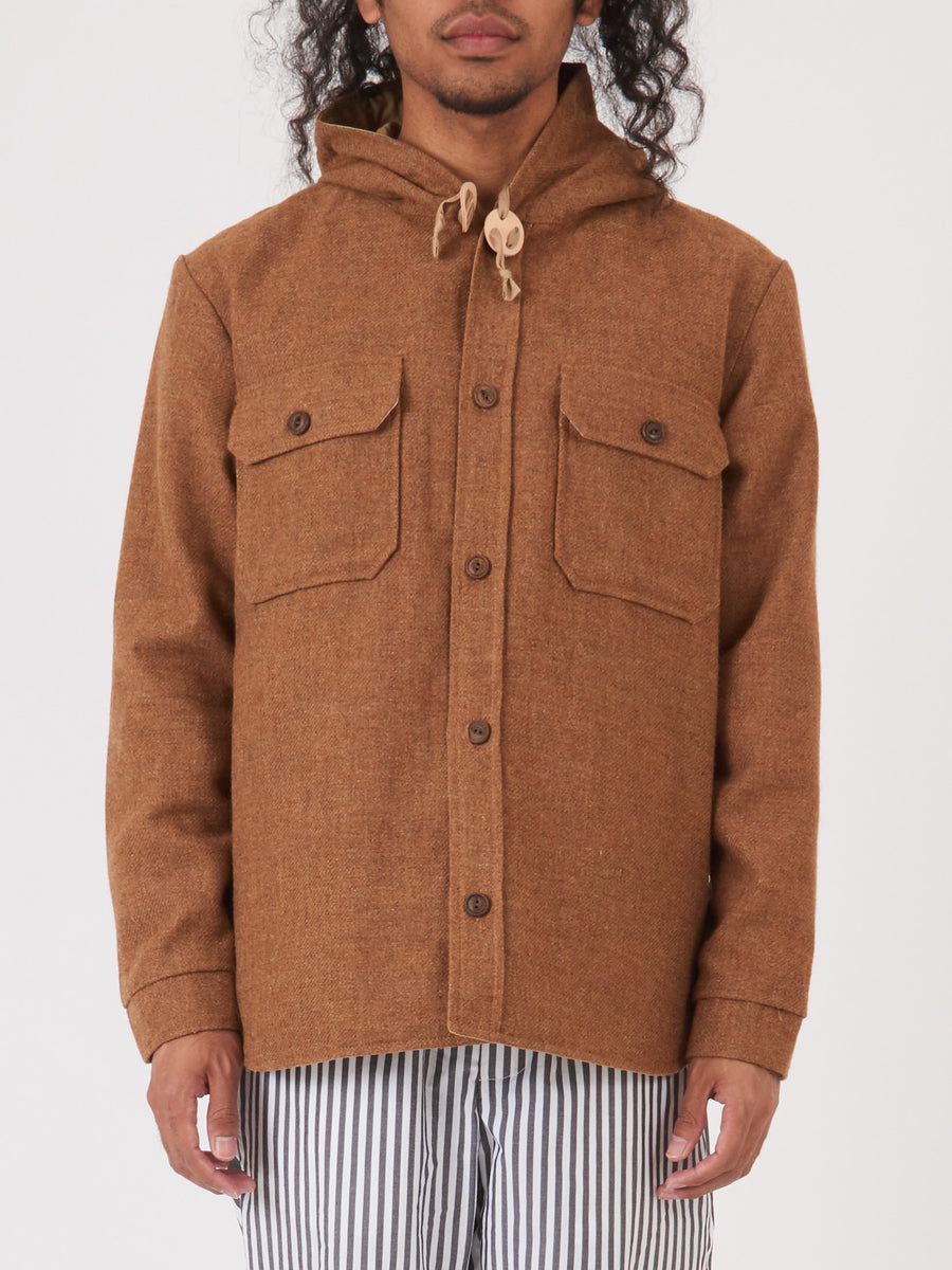 beams-plus-Light-Brown-Reversible-Hood-CPO-Jacket-on-body