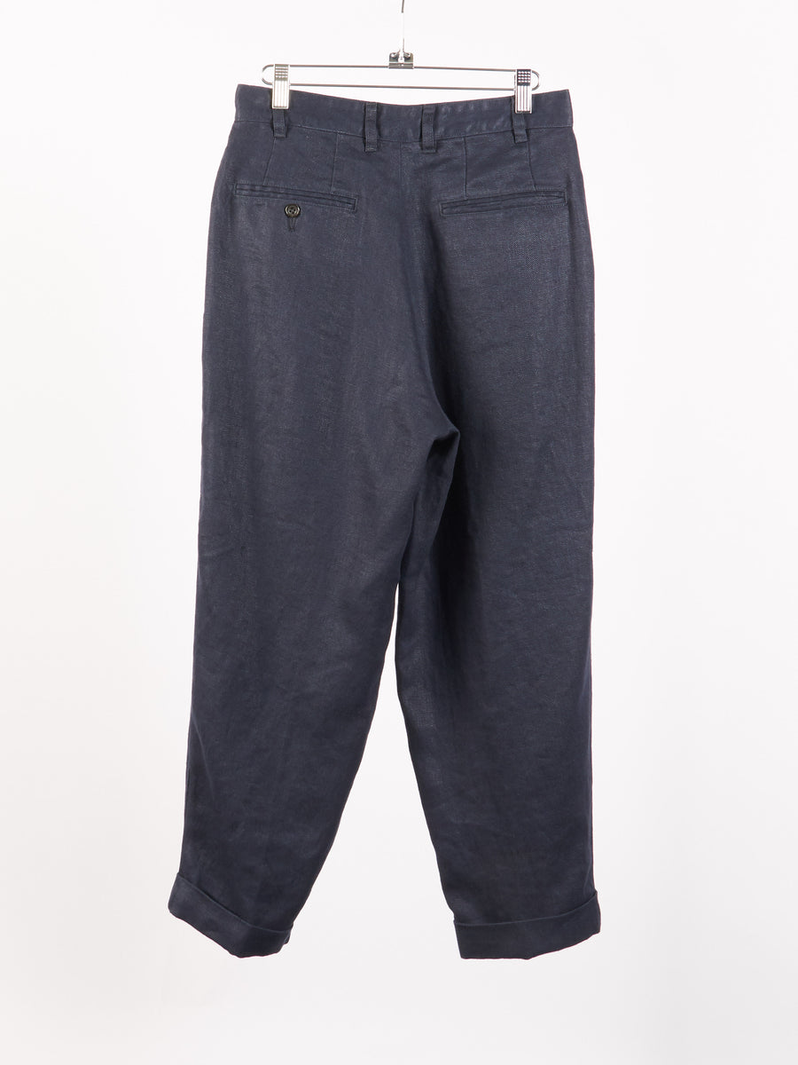 beams-plus-Navy-Linen-Chino