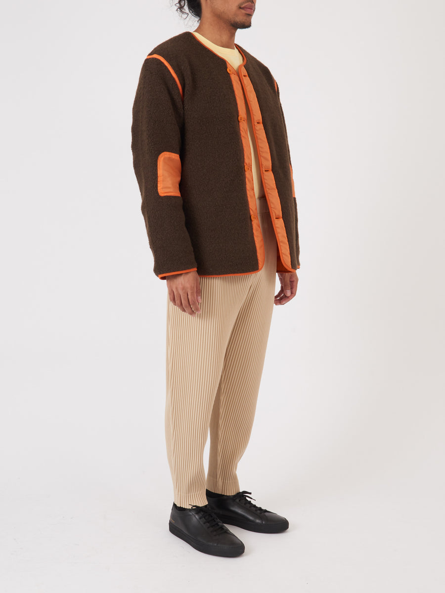 beams-plus-Olive/Orange-M-65-Liner-on-body