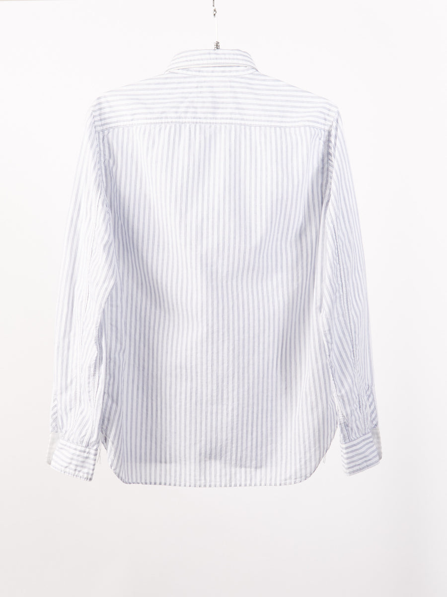beams-plus-White-Stripe-Work-Shirt