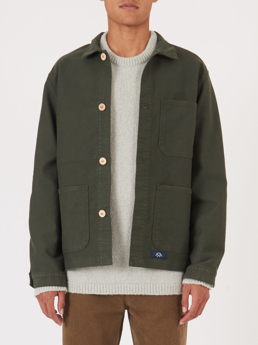 bleu-de-paname-Dark-Green-Comptoir-Jacket-on-body