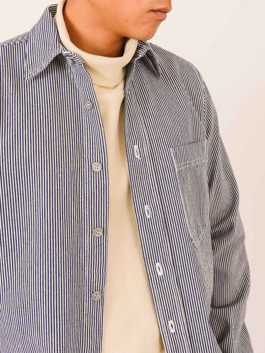 bleu-de-paname-One-Pocket-Striped-Shirt-on-body
