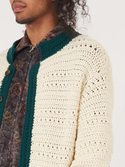 bode-Ecru-Crochet-Sweater-Jacket-on-body