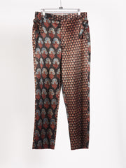 bode-Grey/Blue-Duo-Block-Print-Trouser