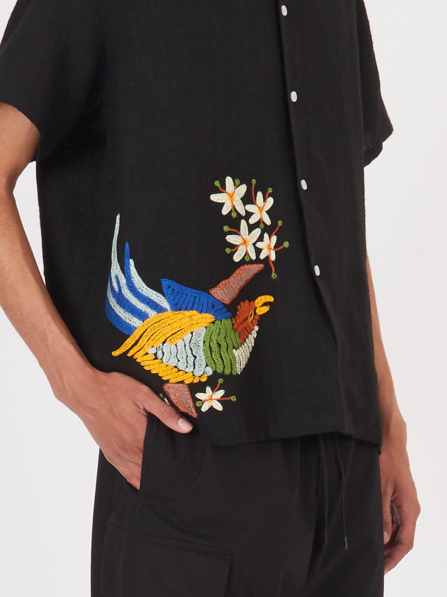 bode-Tropical-Bird-Shirt-on-body