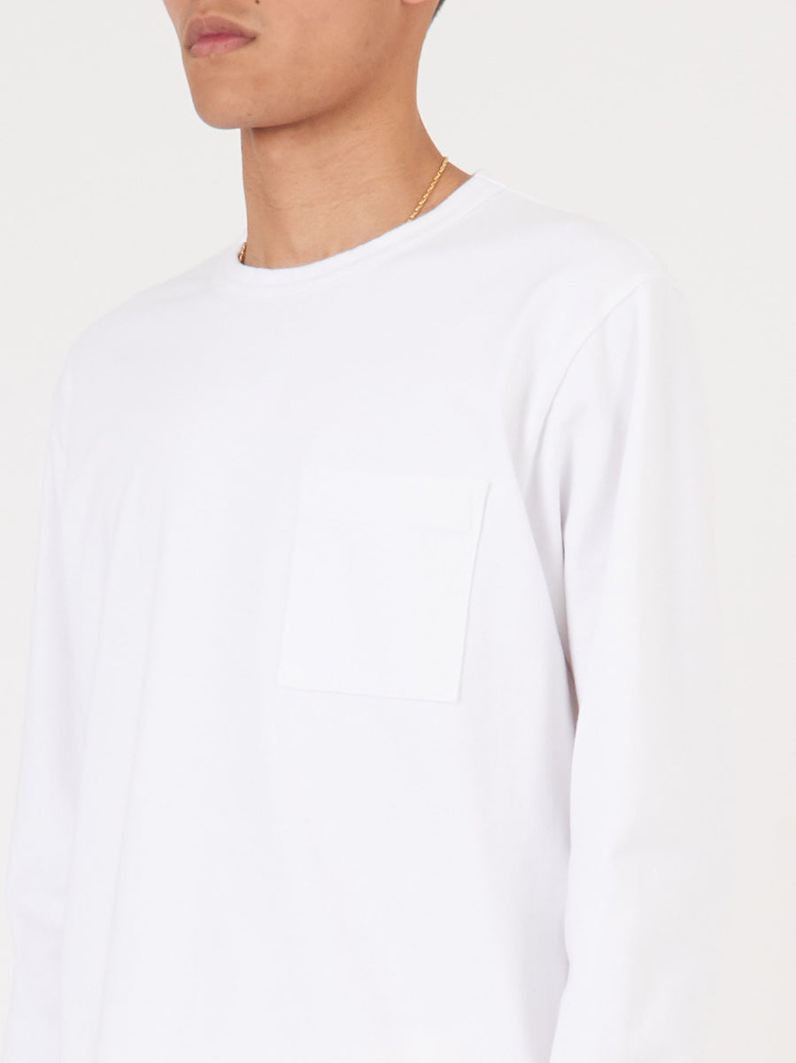 dehen-1920-White-Heavy-Duty-L/S-Pocket-Tee-on-body
