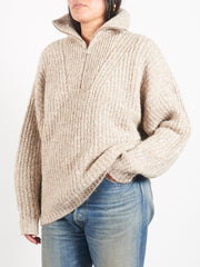 Isabel-Marant-Etoile-Beige-Myclan-Sweater-on-body