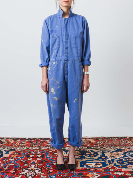 Periwinkle Work Jumpsuit