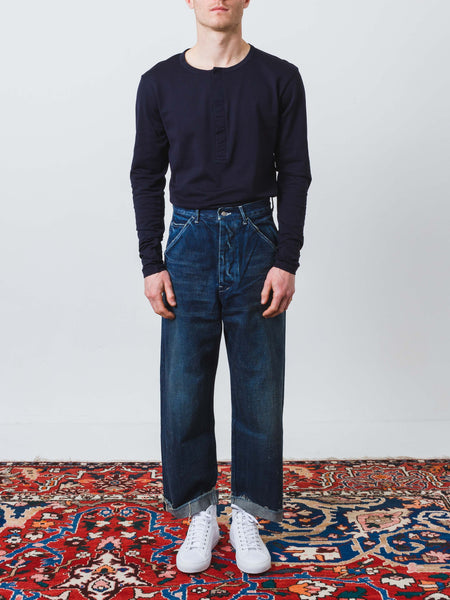Chimala - Denim Cinch Back Trouser