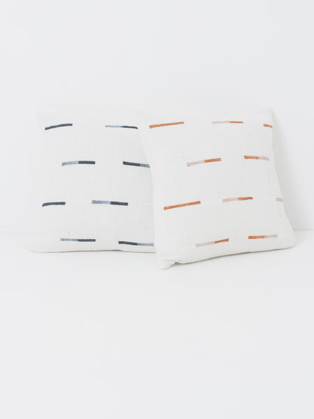Caroline Z Hurley - Tan Yucatan Dashes Pillow