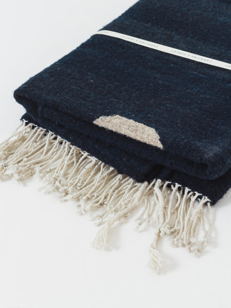 Deep Navy Florence Wool Rug