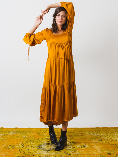 Goldenrod Empress Dress