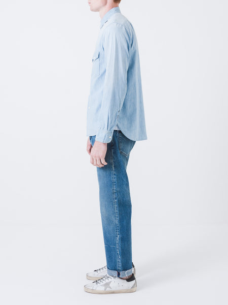Vintage Repair Chambray Work Shirt