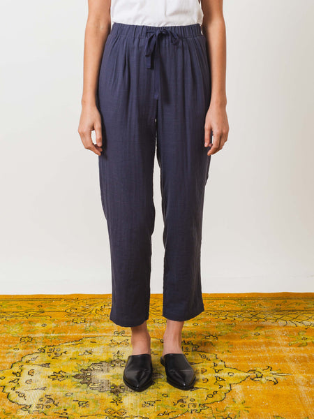 Storm Blue Tied Pant