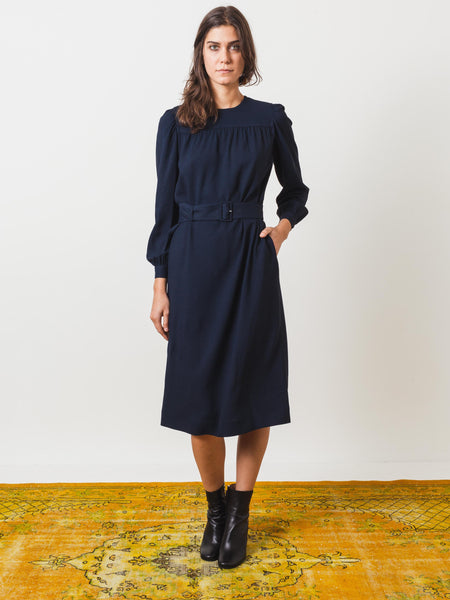 Off-Black Margerite Dress