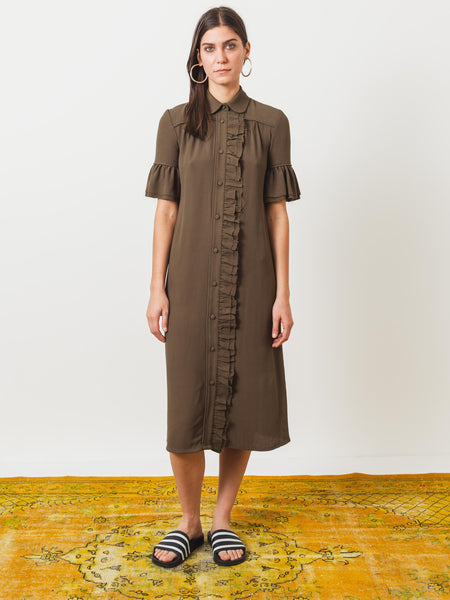 frances-may-houseline-olive-department-store-dress-on-body