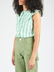 ganni-kelly-stripe-sleeveless-shirt-on-body