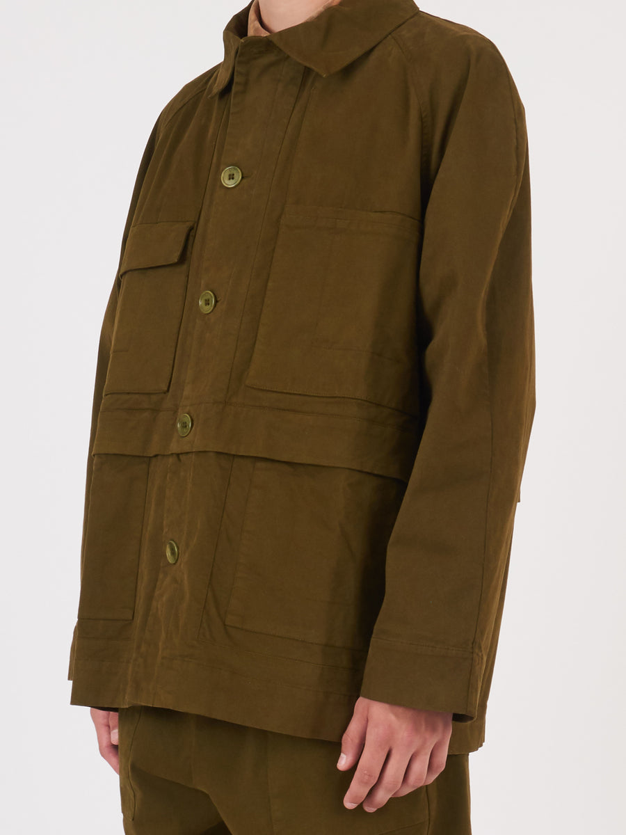 henrik-vibskov-Military-Olive-Landmark-Jacket-on-body