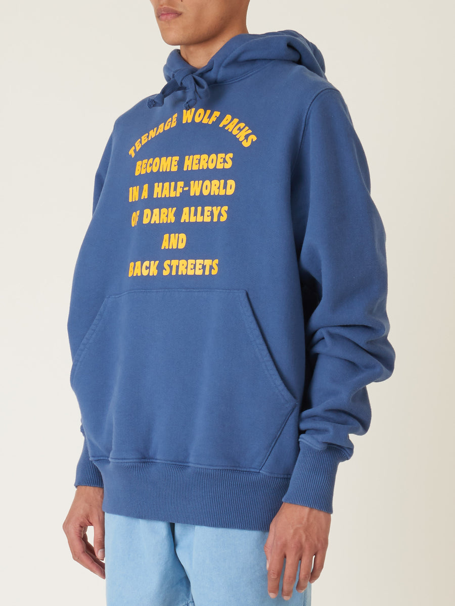 last-heavy-Indigo-w/-Yellow-Teenage-Wolf-Pack-Hoodie-on-body