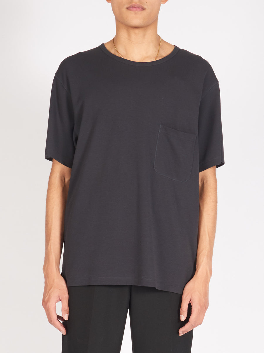 lemaire-Graphite-Crepe-T-Shirt-on-body