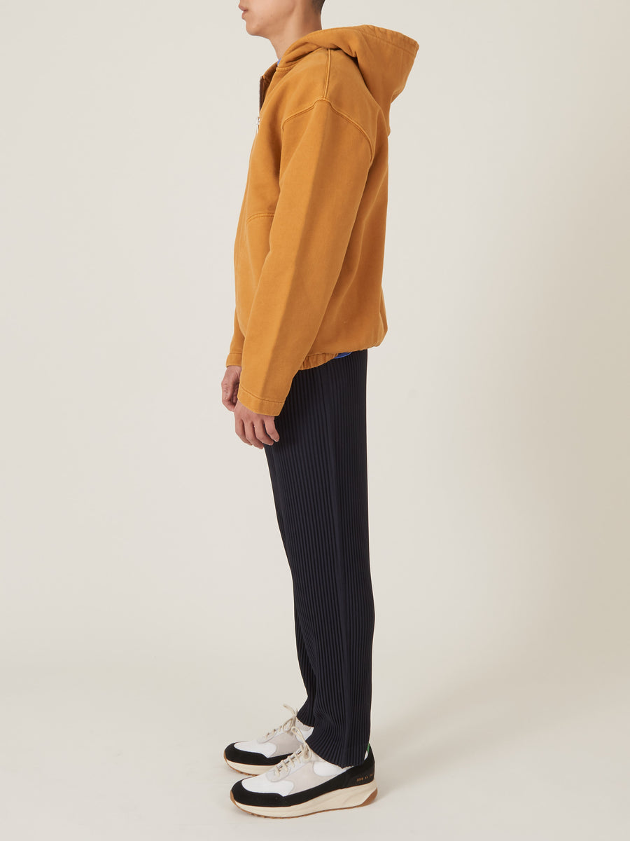 lemaire-Ochre-Hooded-Zipped-Sweater-on-body