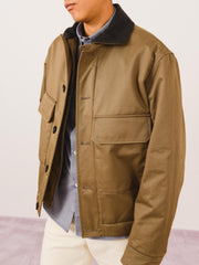 lemaire-Tobacco-Wadden-Blouson-Jacket-on-body