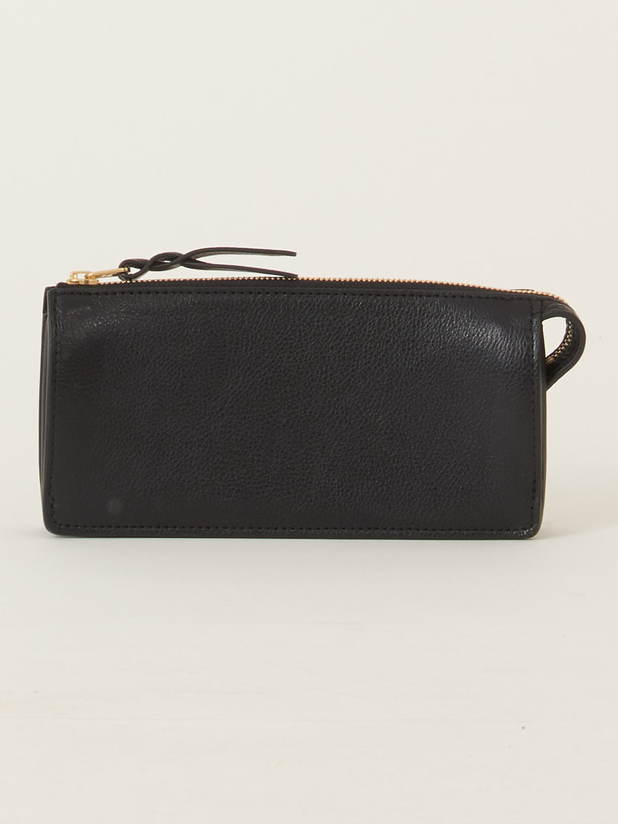 Women's Black Leather Wallet