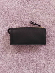 lotuff-Women's-Black-Leather-Wallet