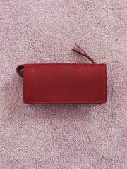 lotuff-Women's-Red-Wallet