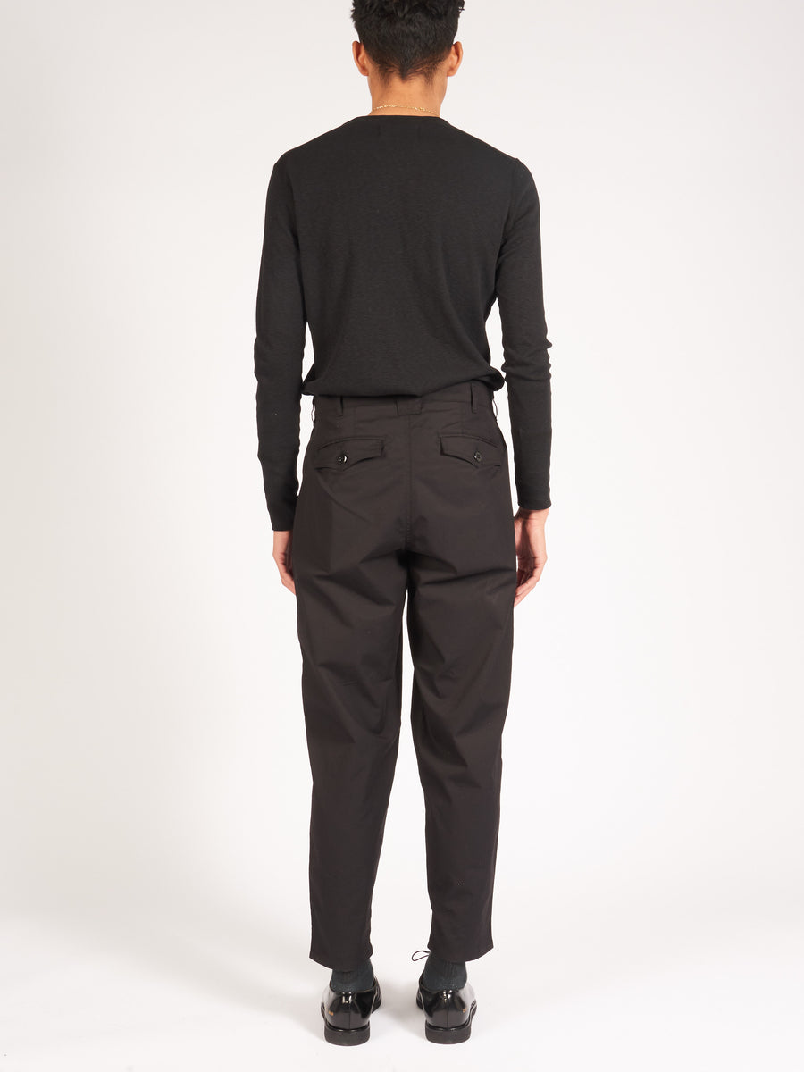 monitaly-Oxford-Black-Riding-Pants-on-body