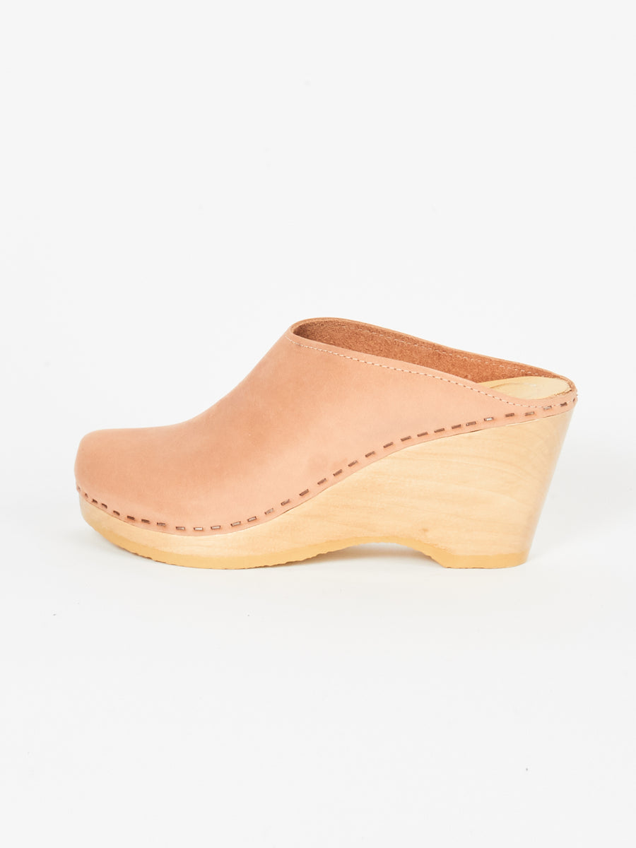 Pink Sand New School Wedge Clog