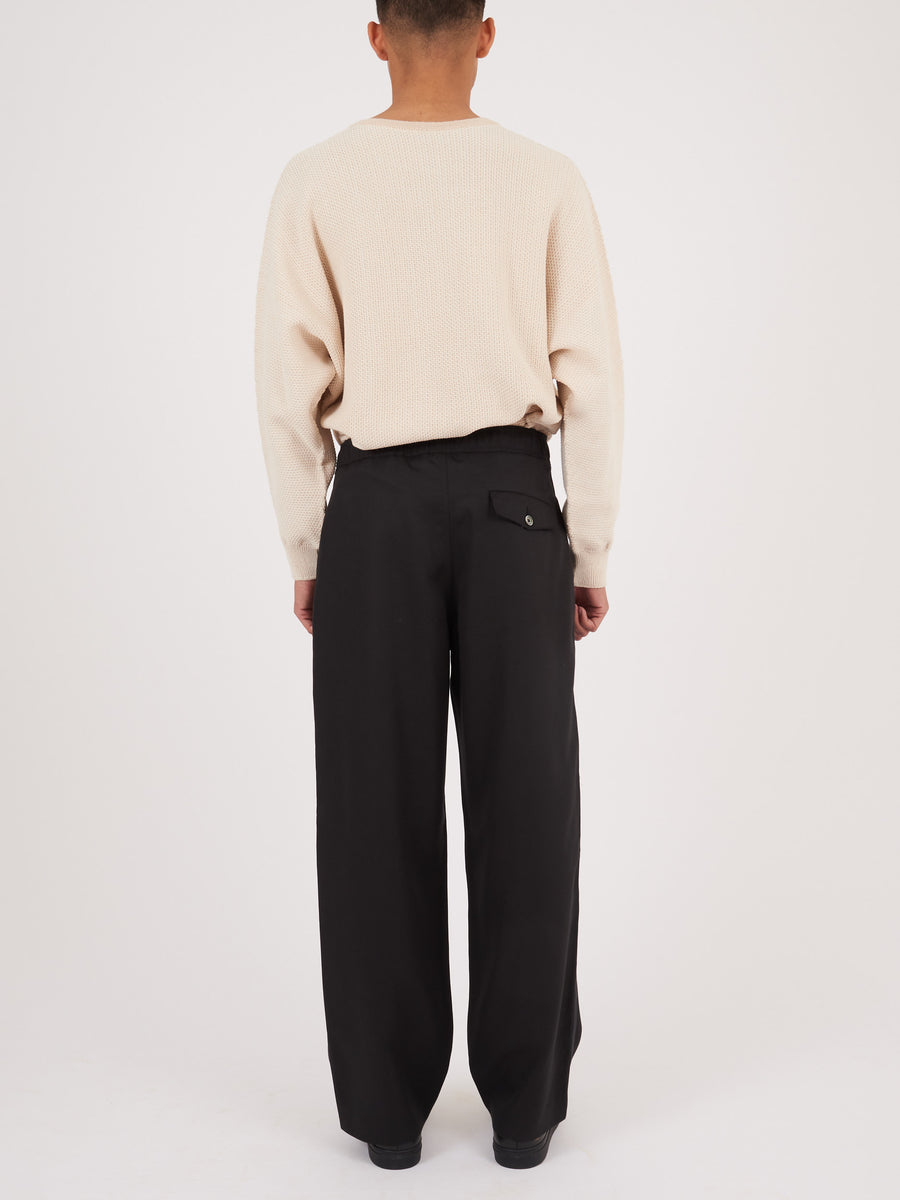 our-legacy-Black-Side-Stripe-Drape-Trousers-on-body