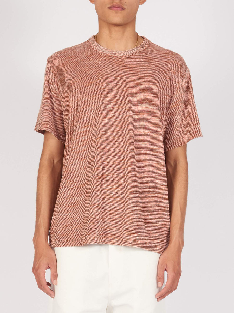 Brown Stripe New Box T-Shirt