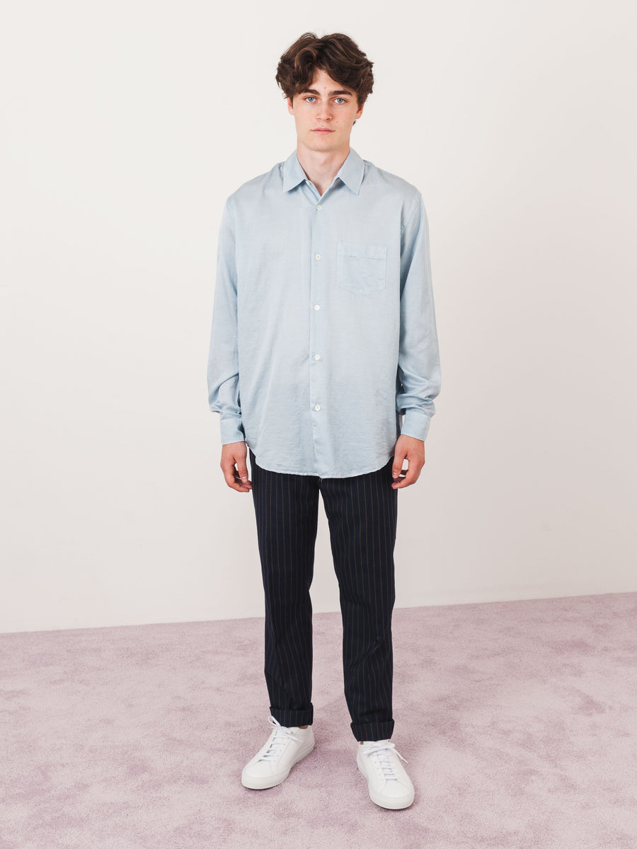 Light Blue Initial Shirt
