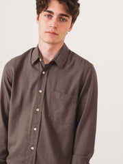 our-legacy-Mudd-Silk-Classic-Shirt-on-body