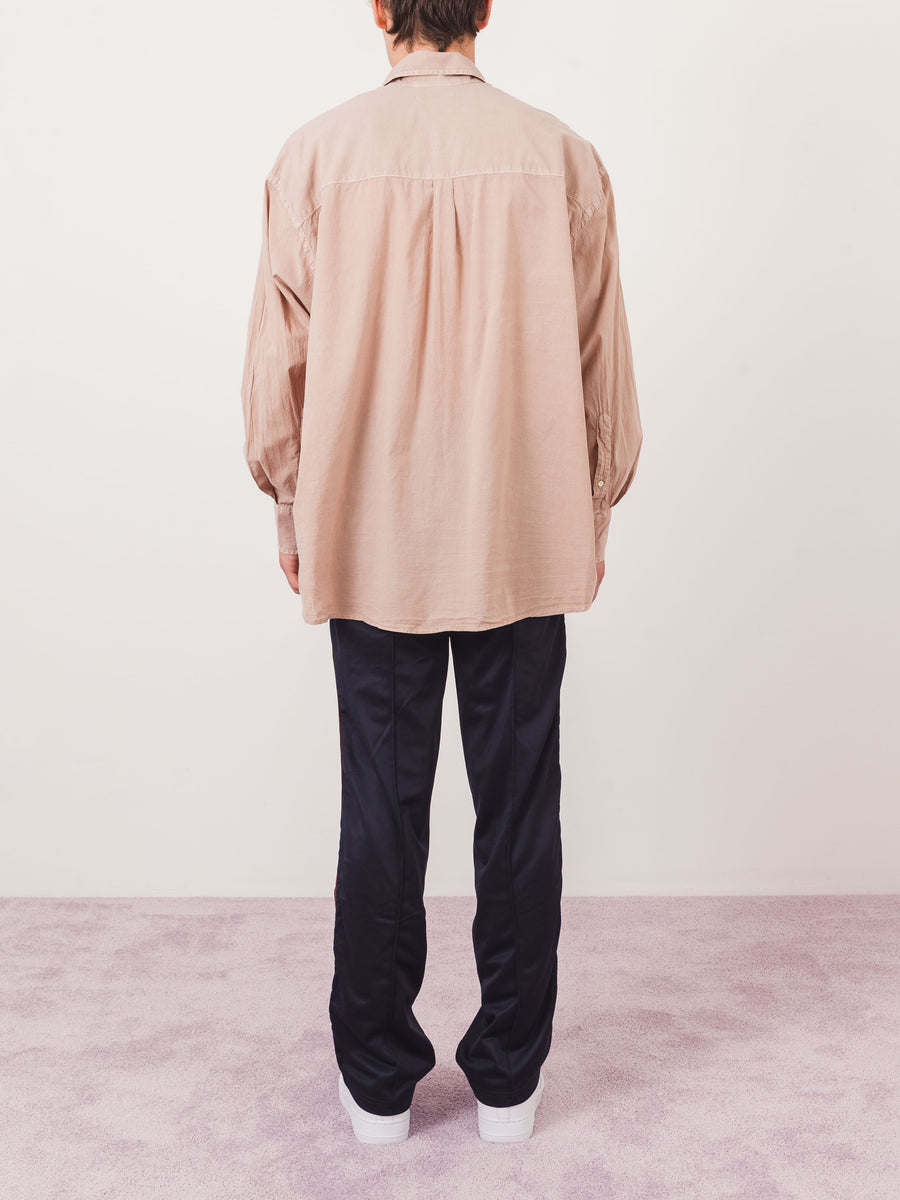 our-legacy-Pink-Borrowed-Vintage-Voile-Shirt-on-body
