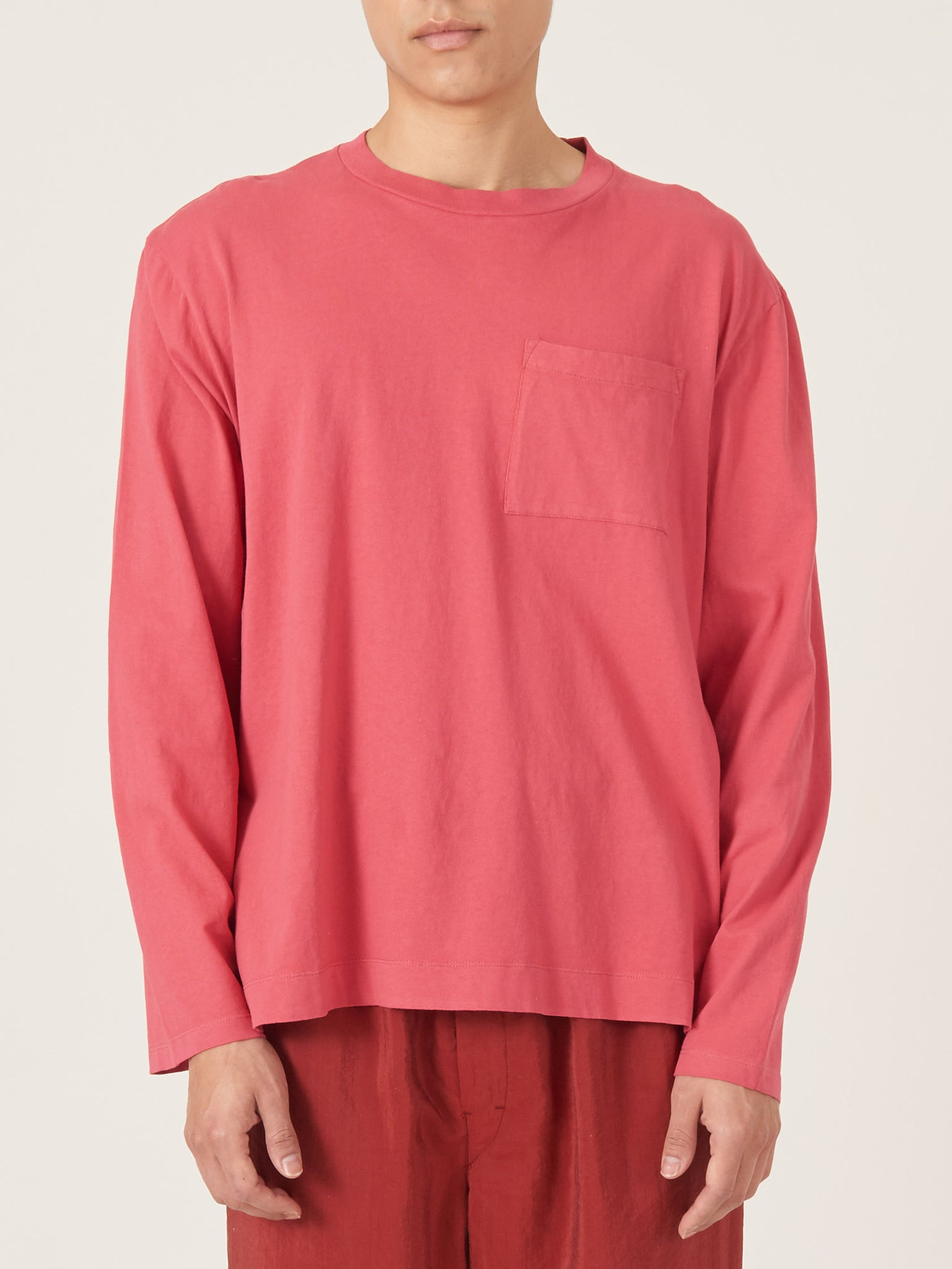 1b3b843153c3 our-legacy-Vintage-Red-Box-Longsleeve-on-body