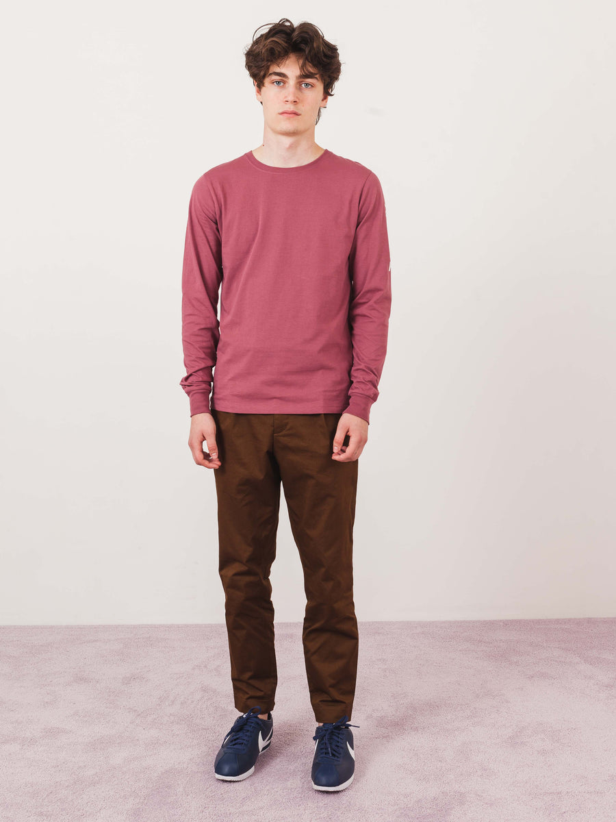 Light Plum NYC NY L/S Tee