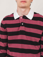 saturdays-Plum-Sanders-Stripe-L/S-Tee-on-body