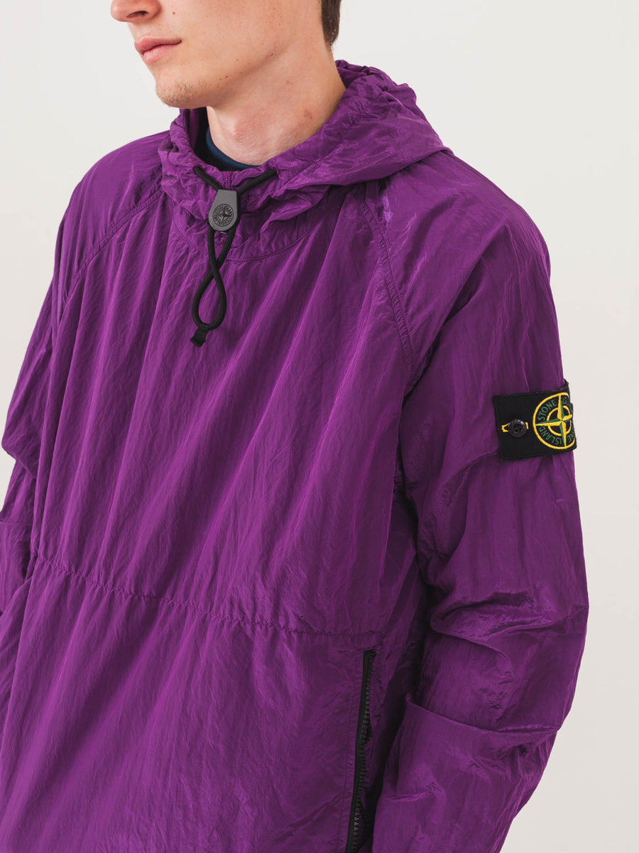 stone-island-Magenta-Nylon-Metal-Pullover-on-body