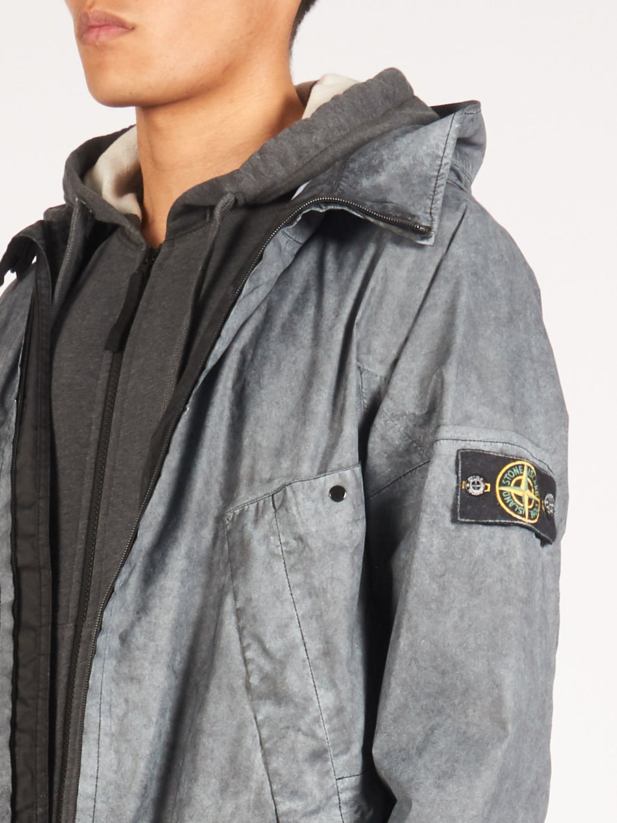stone-island-Nero-W/Dust-Finish-Parka