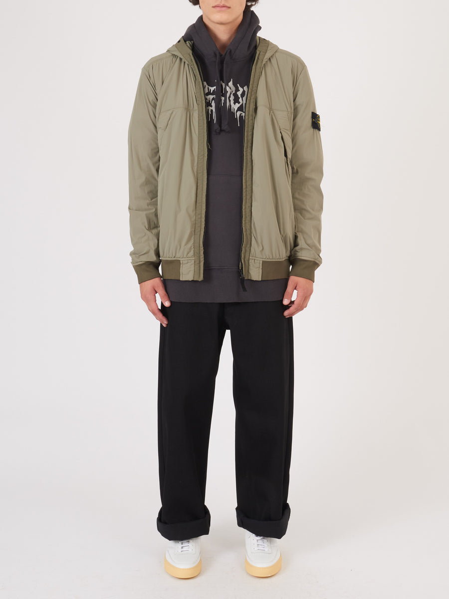 stone-island-Verde-Oliva-Hooded-Jacket-on-body