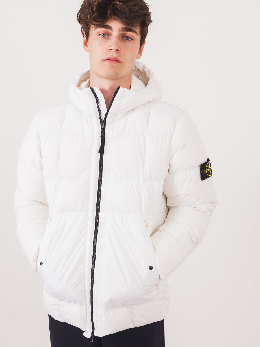 stone-island-White-Down-Hooded-Jacket-on-body