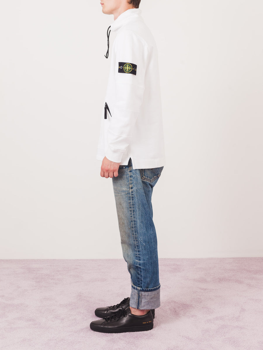 stone-island-White-Fleece-Mock-Neck-on-body