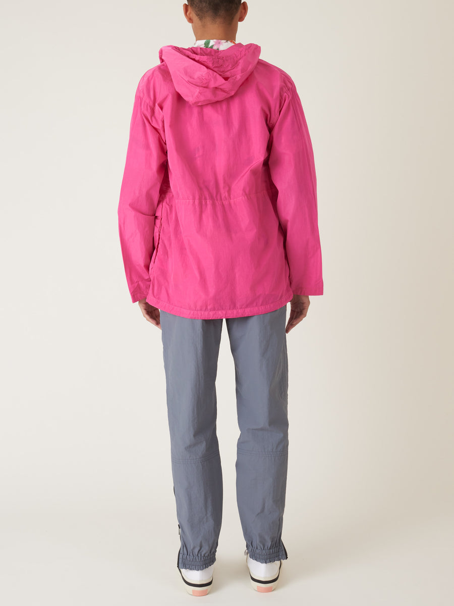 très-bien-Pink-Overdye-Simple-Parka-on-body