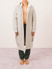 Concrete Cabin Fleece Robe