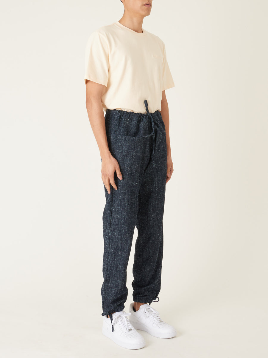 zed-Blue-Silk/Nep-Denim-Trousers-on-body